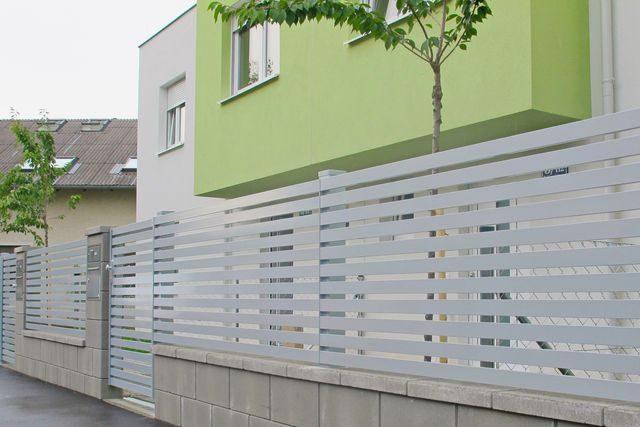 Ausztriai Brix Zaun + Tor GmbH, alumínium kerítés gyártó cég