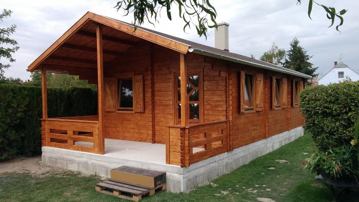 Eriszta Faház Bt., Magyarország, Pápa - boronafalas építési rendszerű faházak készítése