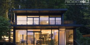 Projekt Holz GmbH, Németország, Baldham, München - modern faházak építése