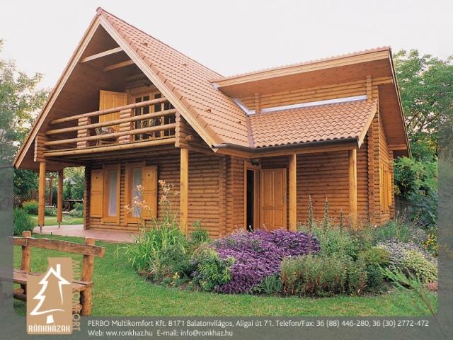 PERBO Multikomfort Kft., Balatonvilágos - rönkházak tervezése, építése